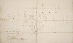 Plan of houses & ground in and near Holbourn, held by Thomas Lee Esqr. under lease from the Crown